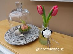 Schneckenhaus: Flowerday in Farbe...