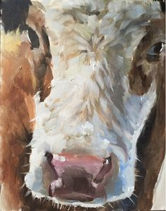Cow Painting Cow Art Cow PRINT - Cow Oil Painting #art @EtsyMktgTool #cowart #cowpainting #cowprint #cow #artprint #print #cowwallart Cow Wall Art, Cow Art, Canvas Wall Art, Canvas Prints, Cow Painting, Painting & Drawing, Painting Prints, Art Prints, Cow Pictures