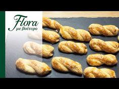 Κουλουράκια πορτοκαλιού | Flora με βούτυρο - YouTube Hot Dog Buns, Hot Dogs, Flora, Bread, Youtube, Brot, Plants, Baking, Breads