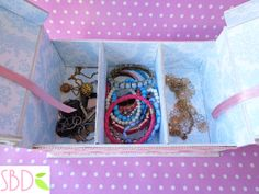 Tutorial: Scatola porta Gioie - Jewelry Box DIY by SweetBioDesign