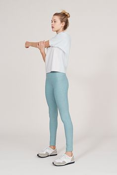 Warmup Leggings // Activewear // Made in the USA // Outdoor Voices