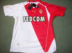 Monaco BNWT shirt from 2003/04 added to site www.classicfootballshirtscouk.com Size XL £39.99