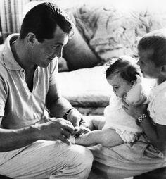Dean Martin and his children.
