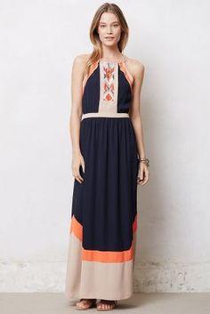 Colorblocked Neblina Dress