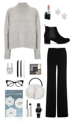 """""""I wanna go home, it's snowing"""" by svevaben ❤ liked on Polyvore featuring Frame Denim, Diane Von Furstenberg, Bling Jewelry, Nails Inc., Topshop, Emporio Armani, Yves Saint Laurent and Bobbi Brown Cosmetics"""