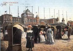 Scheveningen beach, 1906