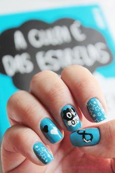 Vício de Menina: Nail Art inspirada em livro: A Culpa é das Estrelas
