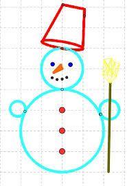 Risultati immagini per pupazzo di neve scuola primaria