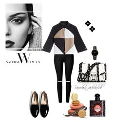 """""""Sans titre #286"""" by ramedasa ❤ liked on Polyvore featuring Proenza Schouler, Tory Burch, Topshop and Yves Saint Laurent"""