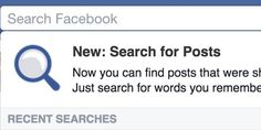 Beware: New Facebook Feature Makes It Much Easier For 'Friends' To Find Embarrassing Posts - Get ready for your college status updates to come back to haunt you....