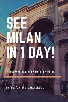 If you only have one day to spend in Milan, you should make the most out of your time by taking this self-guided tour of the city. This tour works best if you already have accommodation in another nearby Italian city such as Bergamo.
