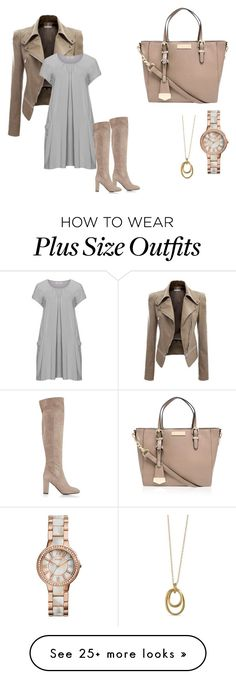 """""""Today's choice: fall is comming"""" by mag1727 on Polyvore featuring Isolde Roth, Carvela Kurt Geiger, L.K.Bennett, FOSSIL and Karen Kane"""