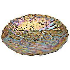 Pier 1 Peacock Luster Platter