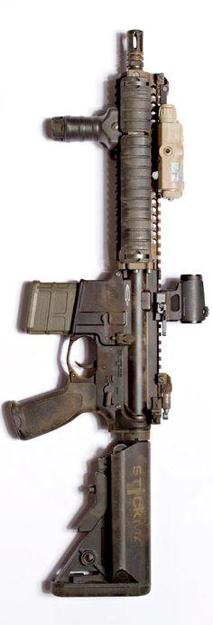 Centurion Arms MK18 upper on BCM lower. By Stickman.