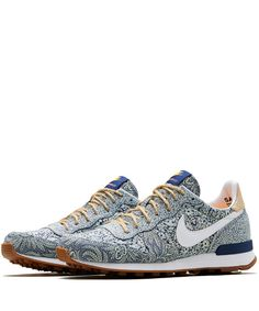 Nike x Liberty Blue Internationalist Trainers | Shoes by Nike x Liberty | Liberty.co.uk