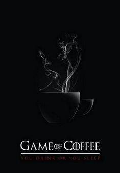 The Game of Coffee. Cartaz / Poster by Gustavo Schulze, via Behance Coffee Talk, Coffee Is Life, I Love Coffee, Coffee Break, My Coffee, Coffee Drinks, Morning Coffee, Coffee Shop, Coffee Cups