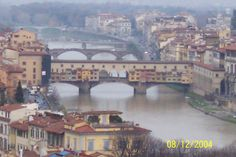 Ponte Veccio Florence. I could spend the rest of my life wandering this city.