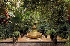 Riad Marrakesh - legendary perfumer Serge Lutens luxury palace in Marrakech- © Patrice Nagel Vogue Germany