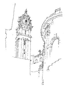 Urban Sketchers Seattle: St. James Cathedral