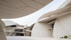 The futuristic form of the National Museum of Qatar in Doha by Atelier Jean Nouvel celebrates Qatar's future while revering its past. Jean Nouvel, Rem Koolhaas, Norman Foster, Zaha Hadid, Doha, Tivoli Hotel, Rooftop Pool, Islamic World, Tree Sculpture
