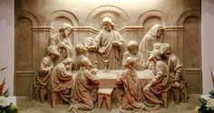 Why Reconciliation Must Precede the Feast Altar Design, Norman Rockwell Art, Christ The King, Blessed Mother Mary, Divine Mercy, Eucharist, Last Supper, Christian Art, Wood Art