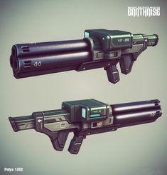 ArtStation - Earthrise Weapons, Georgi Petrov