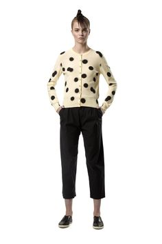 Marc by Marc Jacobs   blurred dot cardigan ¥29,000->¥17,000
