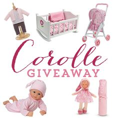 Win a Corolle Baby Toy Set at Daily Mom!