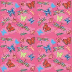Estampado libélulas