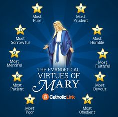 ~The Evangelical Virtues of MARY