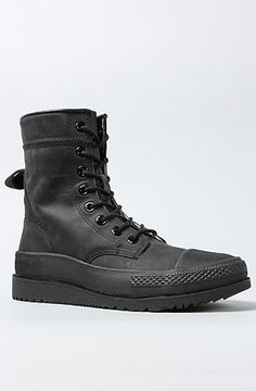 The Chuck Taylor All Star Major Mills Boot in Black by Converse