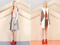 alexander lewis pre fall 2013 like the color combos and style especially shoes