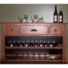 New Haven Wine Console Table Westmoreland Woodworks Wine Cabinets Wine Storage Kitchen & D