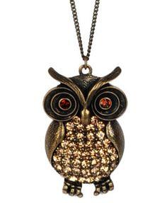 Likin Some Owl Jewery!