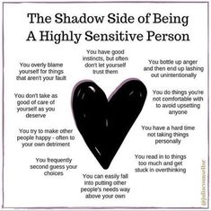 Highly Sensitive Person, Sensitive People, Mental And Emotional Health, Mental Health Awareness, Emotional Awareness, Trauma, Ptsd, Intuitive Empath, Empath Traits