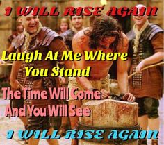 I WILL RISE AGAIN - DALLAS HOLM  Go ahead, Drive the nails in my hands; Laugh at me where you stand; Go ahead, and say it isn't me; The day will come when you will see! 'Cause I'll...  Chorus: Rise again; Ain't no pow'r on earth Can tie me down; Yes, I'll rise again Death can't keep me in the ground!  Go ahead, and mock my name; My love for you is still the same; Go ahead and bury me; But very soon I will be free! 'Cause I'll...  Repeat Chorus...  Go ahead and say I'm dead and gone, But you…
