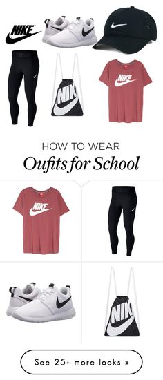"""""""Untitled #55"""" by sarahx11 on Polyvore featuring NIKE"""