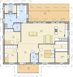 Facade House, House Plans, Sweet Home, Floor Plans, Layout, Exterior, Flooring, How To Plan, Future