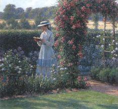 Edmund Blair Leighton sweet solitude | Description Edmund Blair Leighton - Sweet solitude.jpg