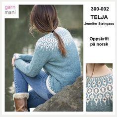 Hand Knitted Sweaters, Sweater Knitting Patterns, Hand Knitting, Minimal Fashion, Scandinavian, Ravelry, Pullover, Sweatshirts, Crochet