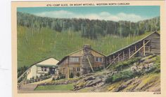 Camp Alice  Mount Mitchell North Carolina  by postcardsofthepast