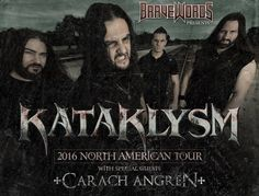KATAKLYSM And CARACH ANGREN To Tour North America This Fall