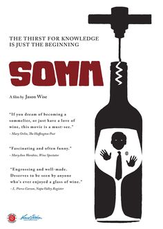 Somm is an incredibly interesting and entertaining documentary about a group of master sommelier candidates - uncork something great and watch it!