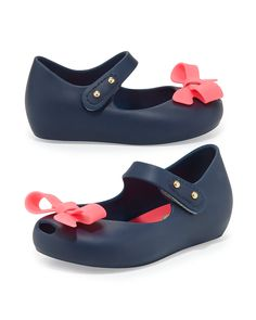df76a89d495 Mini Ultragirl Bow Jelly Flat 5T-10T. Baby Girl ShoesGirls ShoesKnit Baby  BootiesMelissa ...