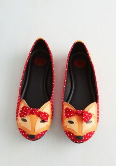 Flats - Clever So Sweet Flat in Red