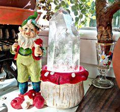 Snow Globes, Home Decor, Dwarf, Crystals, Decoration Home, Room Decor, Home Interior Design, Home Decoration, Interior Design