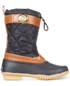 6958d8063d4d Tommy Hilfiger Women s Arcadia Duck Boots - Boots - Shoes - Macy s Winter  Rain