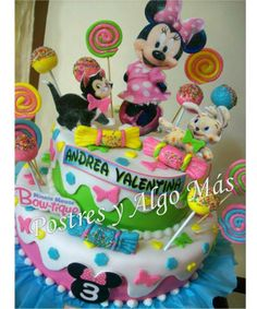 Torta Minnie Bow-tique - Minnie Bow-tique Cake