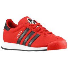 buy online fcefd 95968 n2sneakers - adidas Originals Samoa Boys  Grade School Light  Scarlet Black White,