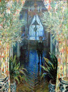Monet, un coin de l'apartement (1875)